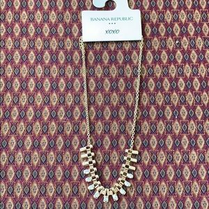 Necklace from banana republic store.